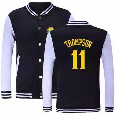 🌈湯普森Klay Thompson純棉運動厚外套🌈NBA球衣勇士隊Nike耐克愛迪達棒球籃球風衣休閒薄夾克男女718