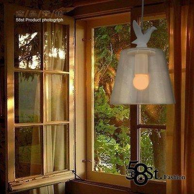 【58街-高雄館】設計師款式「white duck lamp 白色小鴨 吊燈」美術燈,複刻版。GH-253