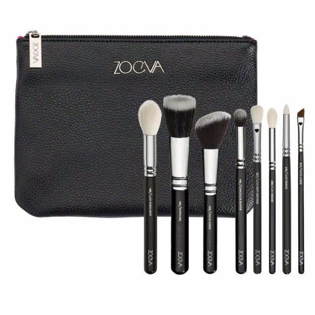 【愛來客 】德國 zoeva CLASSIC BRUSH SET 經典套刷化妝刷具組+刷包