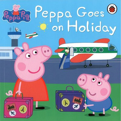 *小貝比的家*PEPPA PIG: PEPPA GOES ON HOLIDAY/平裝/3~6歲