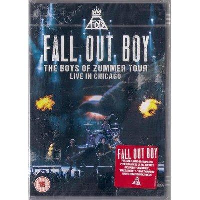 【全新未拆】Fall Out Boy 打倒男孩合唱團:Live In Chicago 2015芝加哥演唱會現場實況DVD