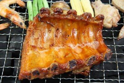 【中秋烤肉食材】BBQ照燒肋排(5支/片)/約350g~以照燒醬調理入味~簡單加熱一下即可享用~方便又美味