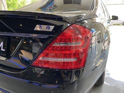 《※台灣之光※》全新BENZ新S W221 09 10 11 12 13年正LCI小改款專用LED尾燈不亮故障燈S350 S400 S500