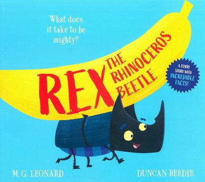 *小貝比的家*REX THE RHINOCEROS BEETLE/平裝/3~6歲/幽默 Humor