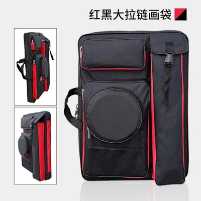 畫包素描畫板袋4k多功能雙肩 美術畫袋防水加厚大拉鍊畫袋 畫板包MJBL