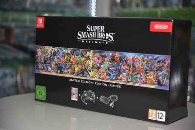 (全新獨家發售) NS Switch 明星大亂鬥 特別版 Super Smash Bros Special (歐洲豪華限定版, 中英文)