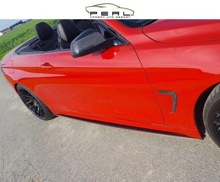 【樂駒】Perl Carbon Design BMW F32 F36 側裙 車側 飾板 碳纖維 改裝 外觀 空力 套件