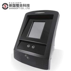 含發票SSV-SAC-35L-FAN-MNB 人臉辨識考勤門禁網路型讀卡機(Mifare) ▶最新人臉辨識演算法