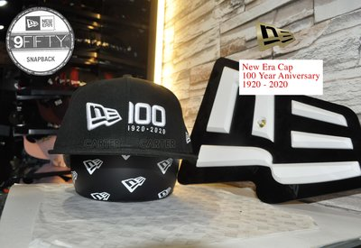 New Era Branded 100 Year Anniversary BLK 9Fifty 一百週年紀念黑色後扣帽