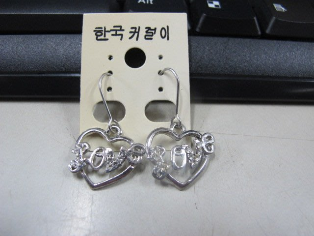 二手舖 NO.4505 時尚造型耳環 耳針 耳鉤 便宜賣 首飾飾品
