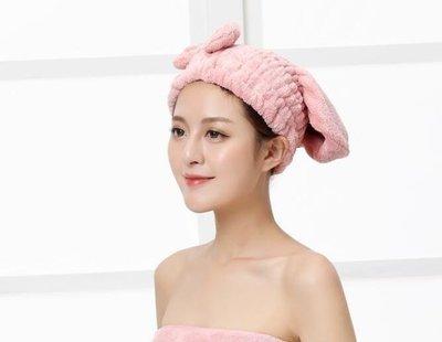 YEAHSHOP 干發帽 超強吸水珊瑚絨女士吸水速干包頭巾兒童孕婦浴帽Y185