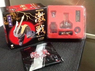 玩具魂 激戰 日本篇 鐵二十二枚張片白星兜 武士頭盔 盒裝 做工精細 絕版稀少收藏品