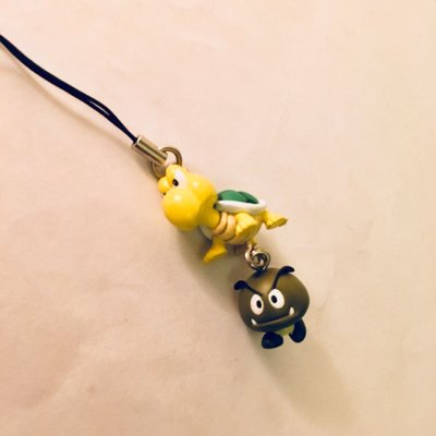 Mario Koopa & Mushroom 電話繩