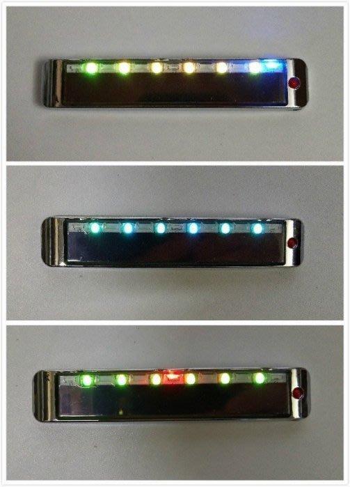 ☀傑太光能☀ 靜電燈 防水開關 太陽能LED除靜電防撞燈 車門裝飾燈 車用爆閃燈 內建七色變化光 C-031面向陽光