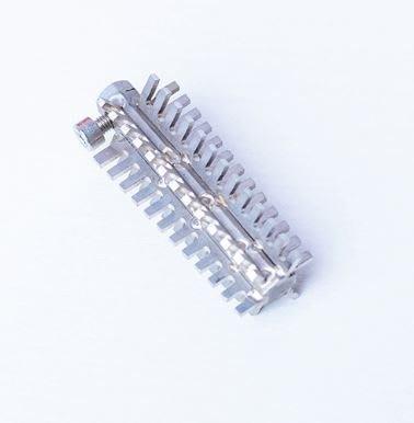 電動刮魚鱗配件 304不銹鋼刀頭 通用型 平齒 電動刮魚鱗器刀頭 魚鱗刨刮魚鱗機打魚鱗器專用(不含電動魚鱗機)