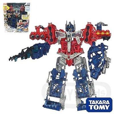 《豪宅玩具》變形金鋼變形金剛 Transformers日版 領袖之證EZ-17 柯博文基地OPTIMUS PRIME