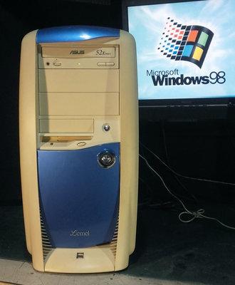 【窮人電腦】跑Win98系統!聯強工業或早期系統遊戲主機出售!雙北桃園地區可親送!外縣可寄!