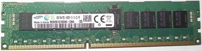 伺服器用記憶體ddr3-1866單條8g三星ecc reg registered 1rx4 8gb pc3-14900r