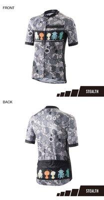 // 優仕單車 // 新款 FMA 日本設計款車衣 HIDE & SEEK 捉迷藏黑灰款