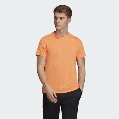 》P.S 》ADIDAS CHILL TEE 透氣 涼感 運動 訓練 短T 短袖 橘色 男款 FL8579