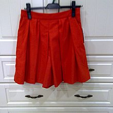 clear impression橘紅褲裙~899起