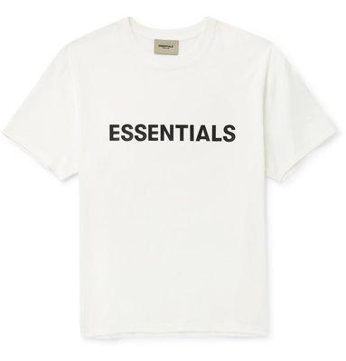 FEAR OF GOD ESSENTIALS Logo-Appliqued T-SHIRT 短袖T恤 短TEE