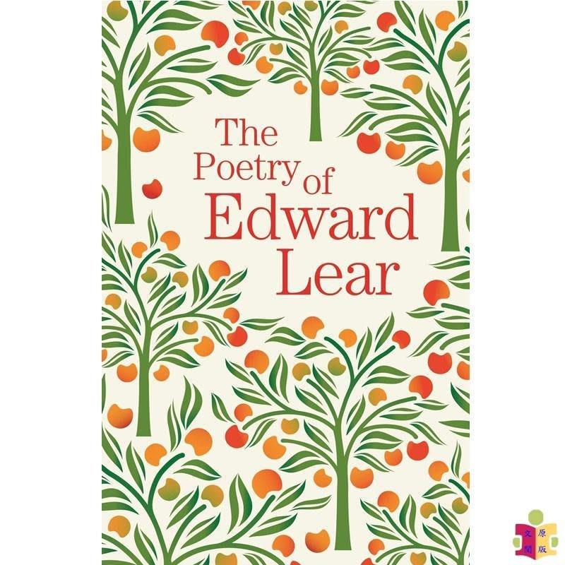 [文閲原版]愛德華·李爾的詩歌 英文原版 The Poetry Of Edward Lear 文學詩歌 詩歌集