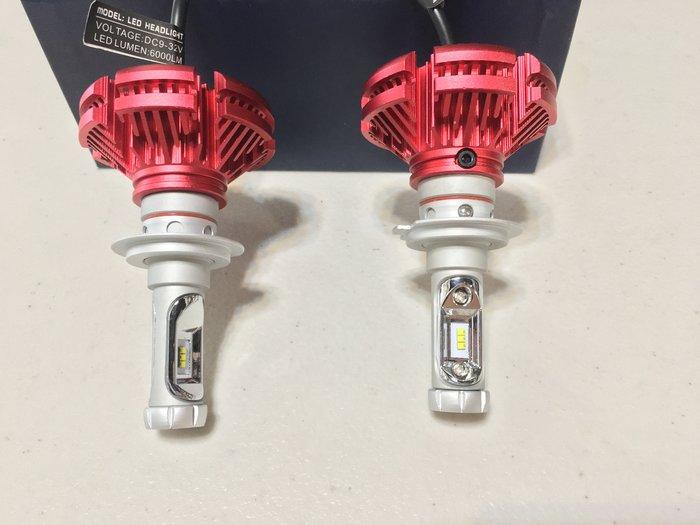 「台中大立」 X3 H1 H3 H4 H7 H8 H9 H11 H16 9004/5/6/12 880/1 LED 大燈