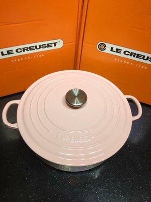 Le Creuset 26cm risotto chiffon pink