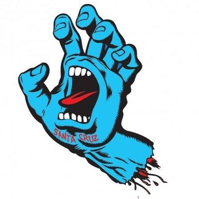 [JIMI 2] Santa Cruz - Screaming Hand 6' 吶喊之手 Jim Phillips 貼紙