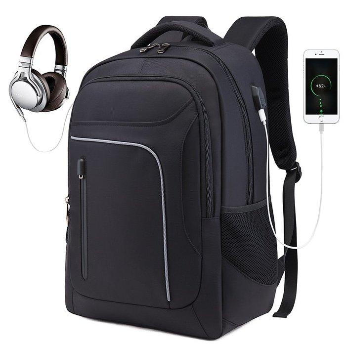 HD1027BK歐美時尚潮流南市商務背包15.6吋黑色