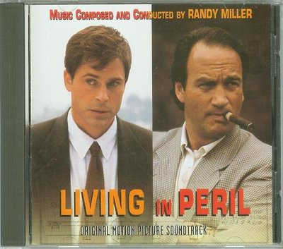 "[原聲帶]-""Living in Peril""- Randy Miller,美版"