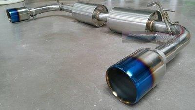 【 KoSoKu 高速 】fortis 專用 雙出110mm 110 排氣管 鈦尾管 尾段 現貨 !