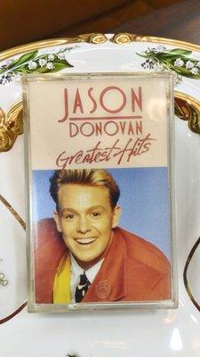 (老件收藏品) 英文專輯JASON DONOVAN  GREATEST HITS 飛碟唱片 錄音帶 卡帶(絕版品)~特價