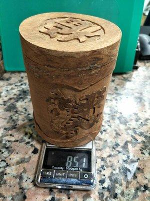 宋家沉香奇楠正宗越南青花肉桂製成收藏罐.可裝牙籤23