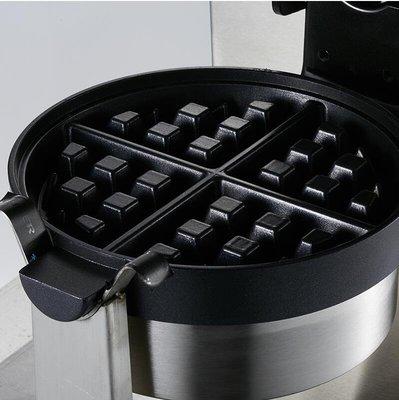 『格倫雅品』君淩松餅機旋轉華夫餅機商用全自動電熱華夫爐格子餅機可麗餅機