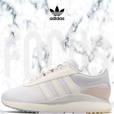 【FOCUS】全新 ADIDAS ORIGINALS SL ANDRIDGE 米白 皮革 休閒鞋 女鞋 FU7139