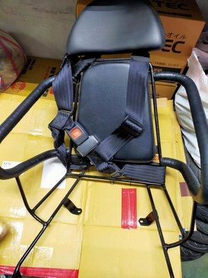 二手 山葉 GTR 125 舊款 GTR 125 固定式機車兒童安全座椅 機車安全座椅 機車兒童安全靠背 安全靠背適枕頭