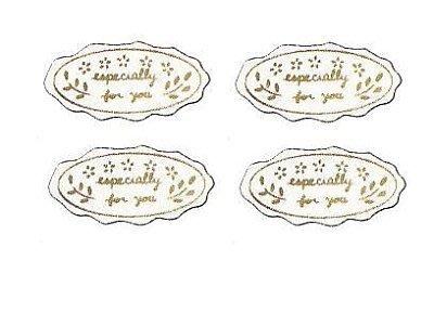 ☆╮Jessice 雜貨小鋪二館╭☆日本進口  燙金 小花 especially  禮品 貼紙 每包 150枚