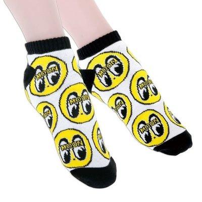(I LOVE樂多)MOONEYES EYEBALL Ladies Ankle Socks 女生款短襪  送禮自用兩相宜