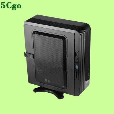 5Cgo【含稅】GAMEMAX小靈越桌上型迷你桌面htpcmini ITX立臥壁挂小機箱標配電源42600805571