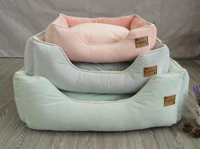 (S)買就送寵物涼感冰墊 可拆洗寵物床墊【好窩販賣所】寵物窩 寵物床 狗墊 狗床 貓床 狗窩 貓窩 寵物睡窩