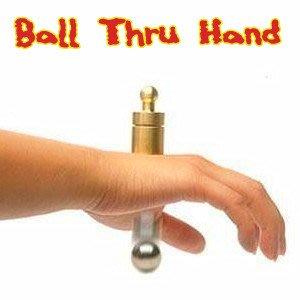 【意凡魔術小舖】鋼球穿手--鋼球穿越(Ball Thru Hand)近距離把妹魔術