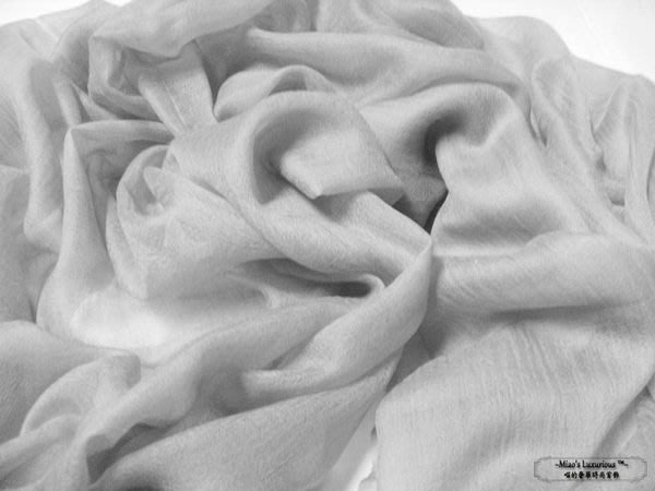 100% cashmere 優雅銀灰--頂級300支pashmina Shahmina全賣場同價位任選2件4000送洗劑