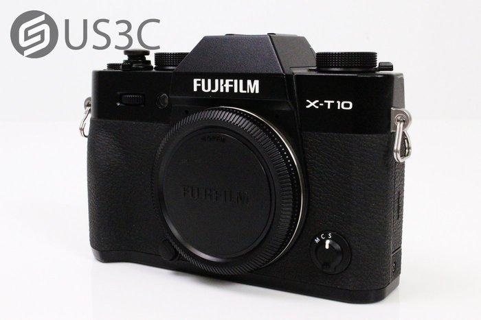 【US3C】富士 Fujifilm X-T10 Body 單機身 單眼相機 內建WiFi 1630萬像素