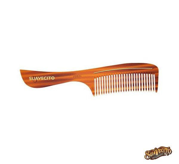 GOODFORIT / Suavecito Deluxe Amber Handle Comb琥珀板料柄梳