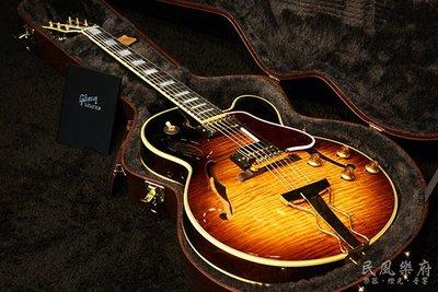 《民風樂府 》 Gibson Memphis ES-275 Figured 空心爵士吉他 狂野虎紋楓木 免息分期