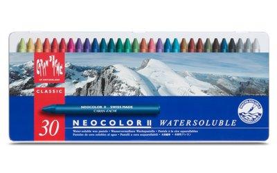【品 · 創藝】精品美術-瑞士CARAN D'ACHE卡達  NEOCOLOR II 專家級水性蠟筆套組-30色 台中市