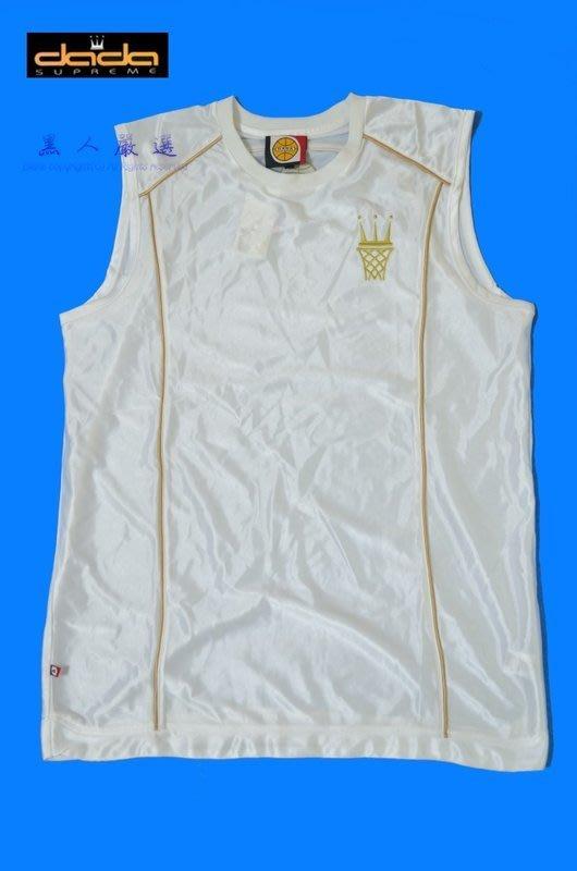 ☆金沙體育☆ 全新真品 DADA 皇冠白金戰袍 籃球背心 M L XL號《DM24》