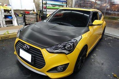 Hyundai Veloster 車燈貼膜 大燈貼膜 熏黑車燈 熏黑大燈 Elantra ix35 Santa Fe